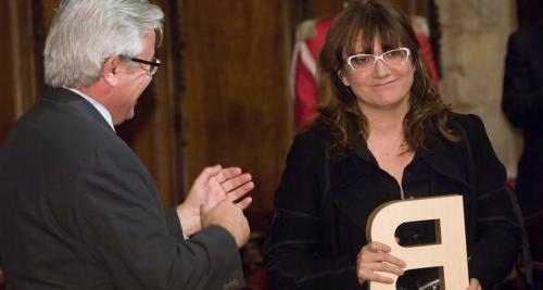 Isabel Coixet - Premi Ciutat de Barcelona d'Audiovisuals 2005