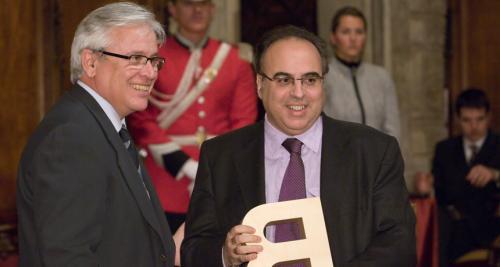 Enric Juliana - Premi Ciutat de Barcelona de Mitjans de Comunicació en Premsa Escrita 2005