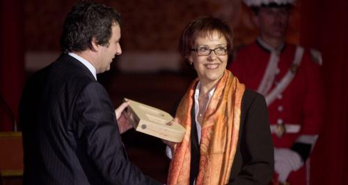 Teresa Serra, del CEIP Collaso i Gil - Premi Ciutat de Barcelona d'Educació 2007