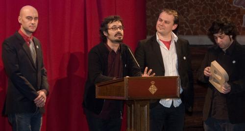 Sergi Jordà, Günter Geiger, Marcos Alonso, Martin Kaltenbrunner - Premi Ciutat de Barcelona de Multimèdia 2007