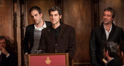 Ricard Galiana, Sergi Pons i Pau Vidal - Premi Ciutat de Barcelona d'Arquitectura i urbanisme 2011