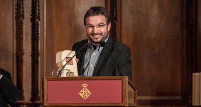 Jordi Évole - Premi Ciutat de Barcelona de Mitjans de comunicació 2011