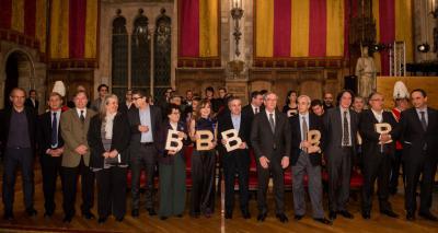 Acte de lliurament Premis Ciutat de Barcelona 2012