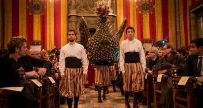 Ball de l'àliga - Acte de lliurament Premis Ciutat de Barcelona 2012