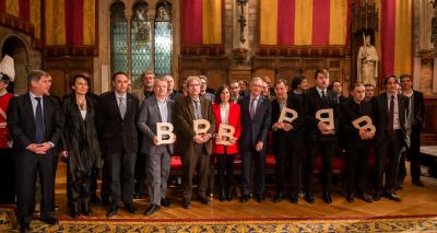 Guardonats - Acte de lliurament Premis Ciutat de Barcelona 2013