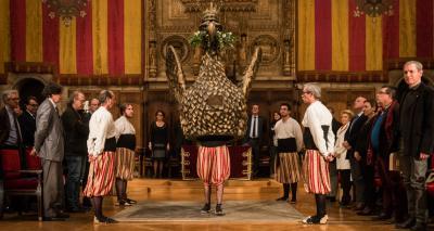 Ball de l'àliga - Acte de lliurament Premis Ciutat de Barcelona 2014