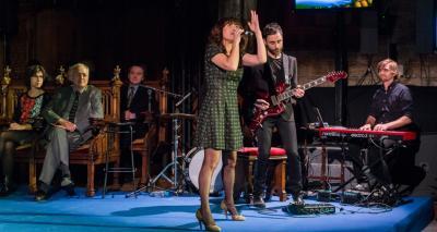 Actuació de Dolo Beltrán - Acte de lliurament Premis Ciutat de Barcelona 2015