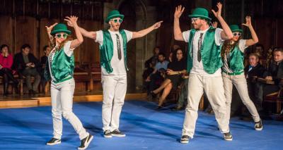 Actuació de Brothers Bros - Acte de lliurament Premis Ciutat de Barcelona 2015
