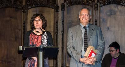Teresa Puig i Xavier Obradors - Premi Ciutat de Barcelona de Ciències experimentals i tecnologia 2015