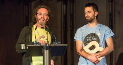 Castellers del Poble Sec - Premi Ciutat de Barcelona de Cultura popular i tradicional 2015