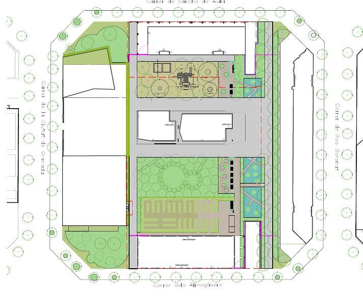 L ajuntament urbanitza la pla a de dolors piera al barri del parc i la llacuna del poblenou a - Pisos de proteccion oficial barcelona requisitos ...