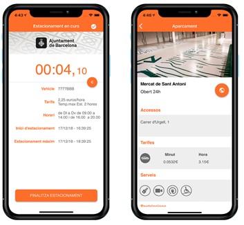 L'app de mobilitat de l'Ajuntament de Barcelona, smou