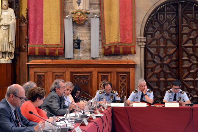 Sessió del Consell de Seguretat de Barcelona