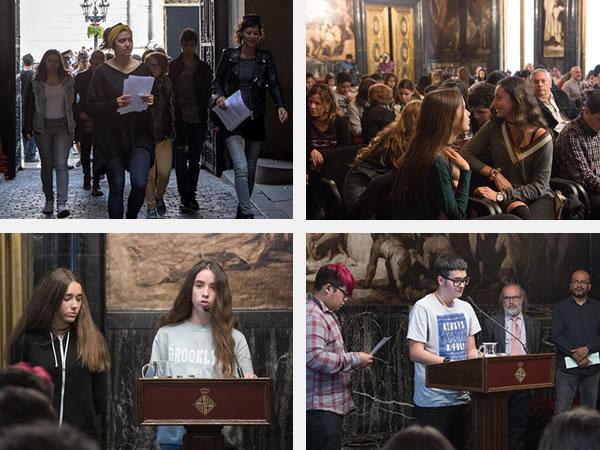 XXI audiència pública nois i noies Barcelona