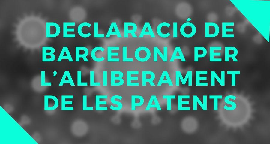 Declaració de Barcelona per l'alliberament de les patents