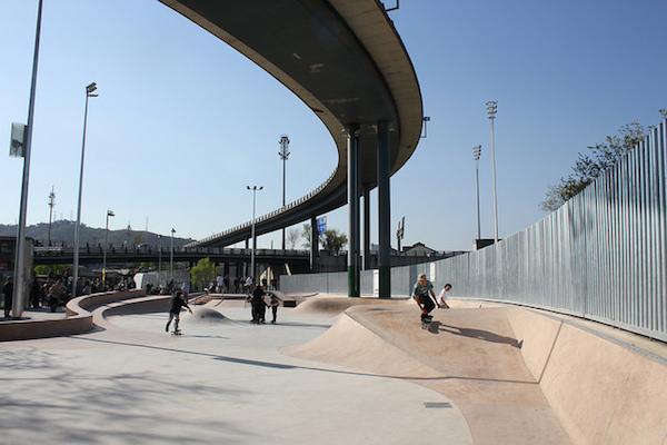Skate park de Baró de Viver