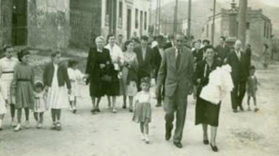 Fotografia històrica de la Trinitat Vella