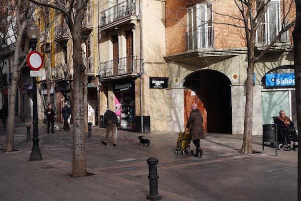 Eix Comercial, el Clot