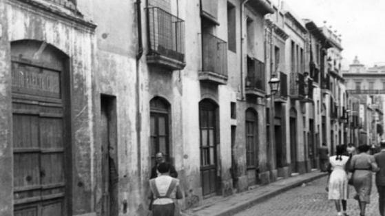 Antigua calle de Núria, hoy calle Mallorca. s/d.
