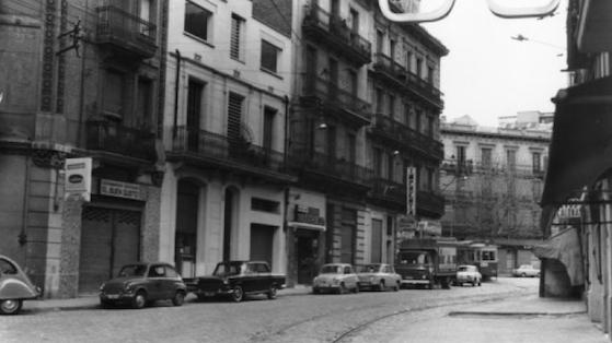 Calle Rogent. 1968