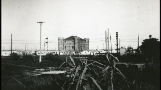 Castell del Camp de la Bota. 1950 aprox.