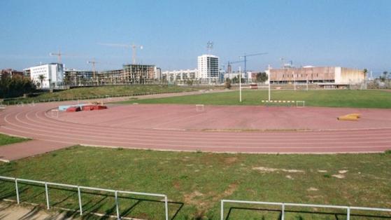 Complex esportiu de la Mar Bella 2001