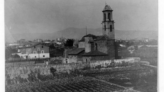 Iglesia Sant Martí de Provençals.1950.