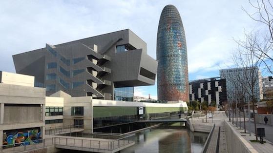 Museu del Disseny i Torre AGBAR