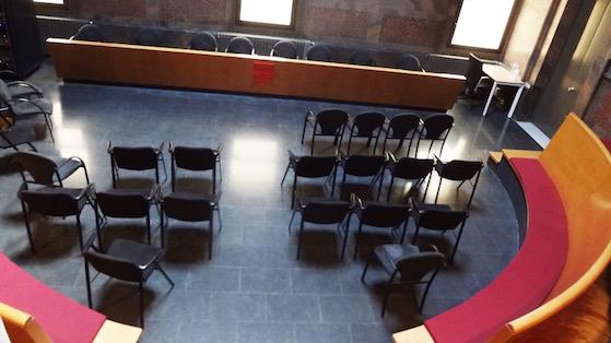 Sala d'Actes del districte de Sant Martí