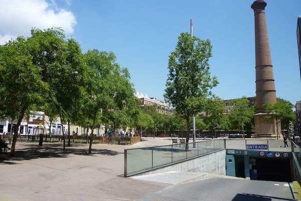Plaça de l'Olivereta