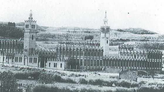 Casarramona a principis del segle XX