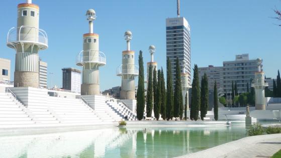 El parc de l'Espanya Industrial