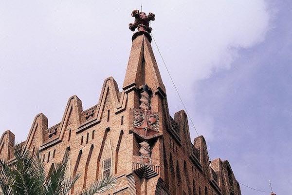 Col·legi de les Teresianes, Gaudí
