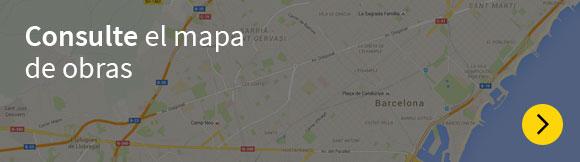 Consulte el mapa de obras