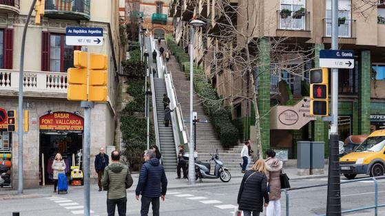 Escales de l'Avinguda República