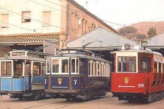 Tramvies a Sarrià - Sant Gervasi