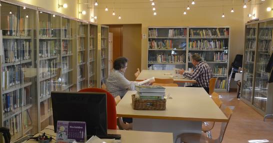 Biblioteca del Centre de Formació del Laberint