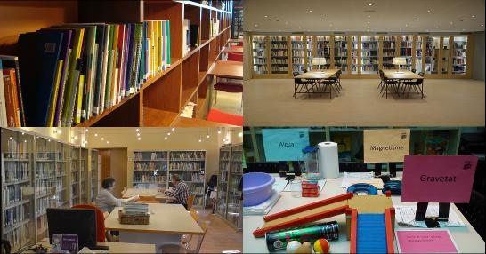 Bibliotecas departamentales