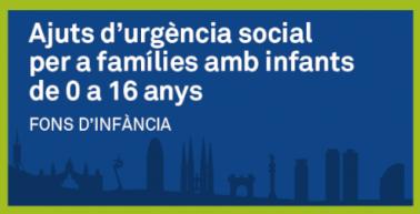 Ajuts d'urgència social per a famílies amb infants de 0 a 16 anys