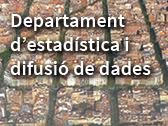 Departament d'Estadística i Difusió de Dades