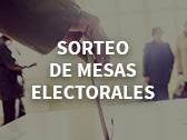 Sorteo de mesas electorales