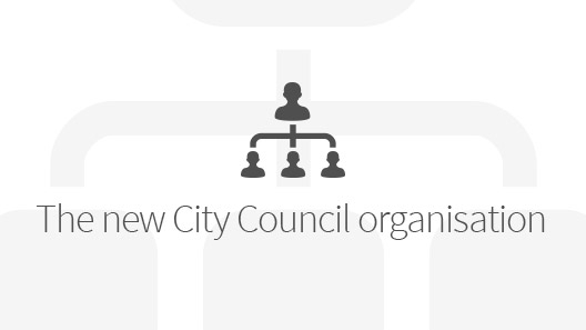 The new City Council organization's banner