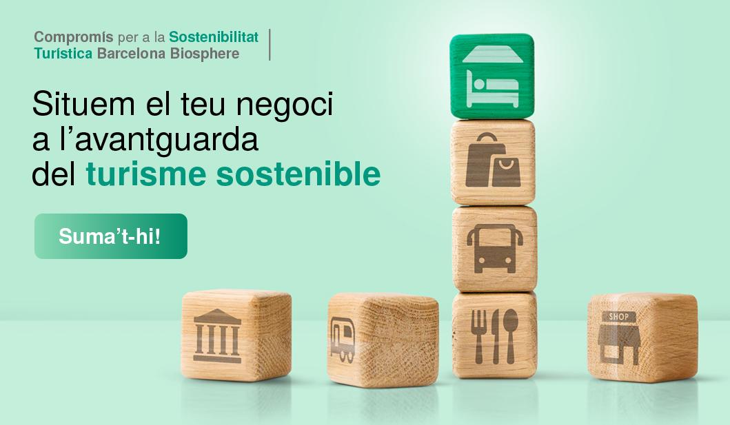 Compromís per a la Sostenibilitat Turística Barcelona Biosphere: www.turismesostenible.barcelona