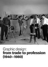 Coberta del llibre Graphic Design: from trade to profession