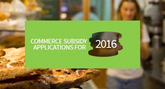 Commerce Subsidy Aplications for 2016