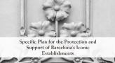 Specific Plan for the Protection and Support of Barcelona's Iconic Establisments