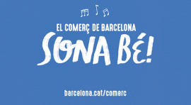 """Barcelona's commerce sounds good"": a campaign is launched for promoting small shops in BCN"
