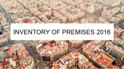 """Barcelona gets an """"Inventory of Premises"""" for economic activities at ground level"""
