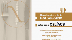 Front cover of Barcelona restaurants guide for coeliacs - 2nd edition