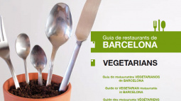 Front cover of Guide to Restaurants in Barcelona - Vegetarian 2nd edition